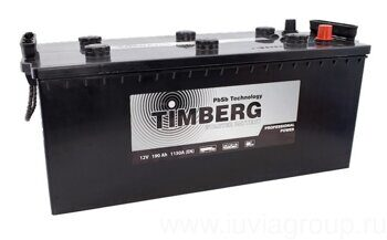 Аккумулятор Timberg Professional Power 190 А/ч